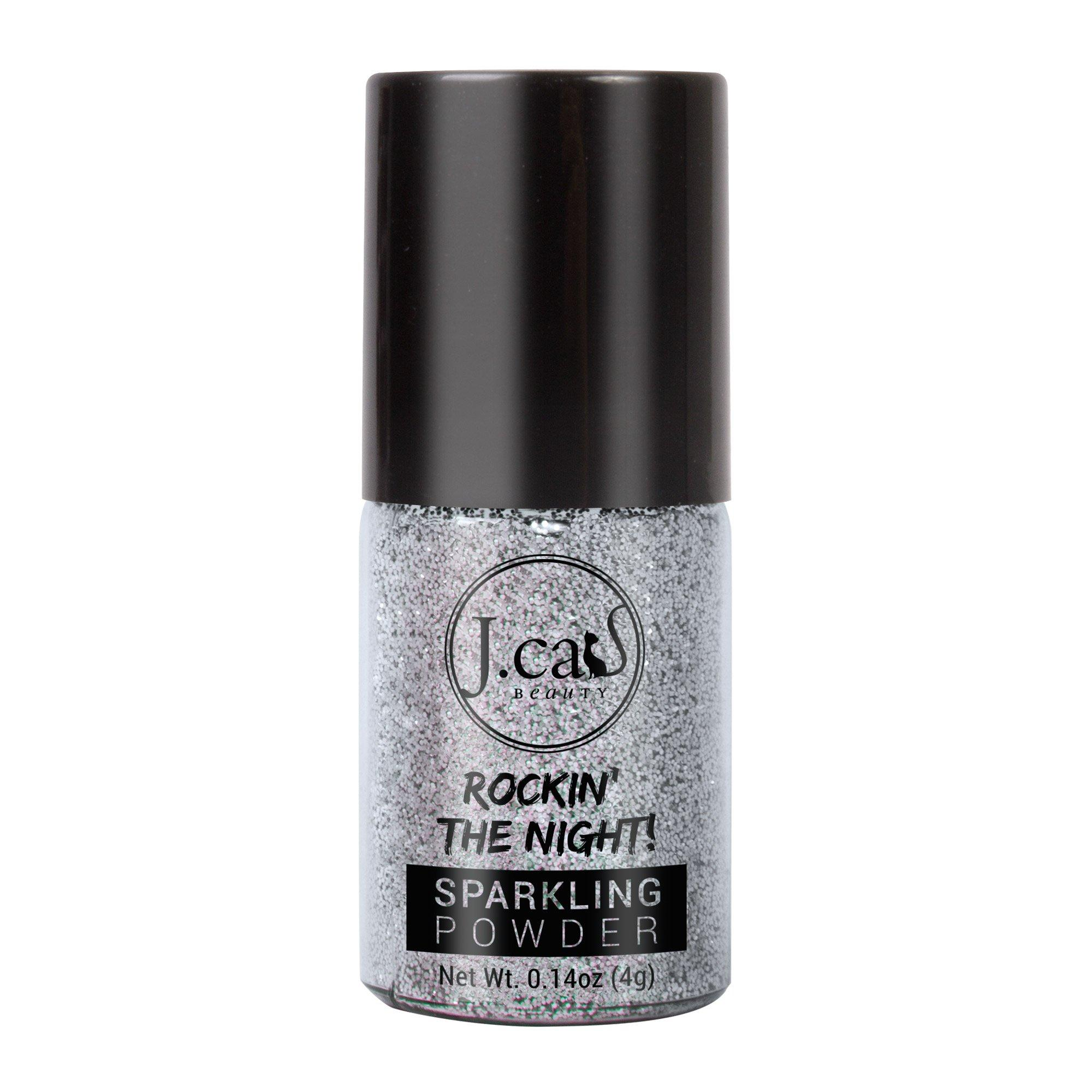 J'Cat Sparkling Powder (Cool Silver)