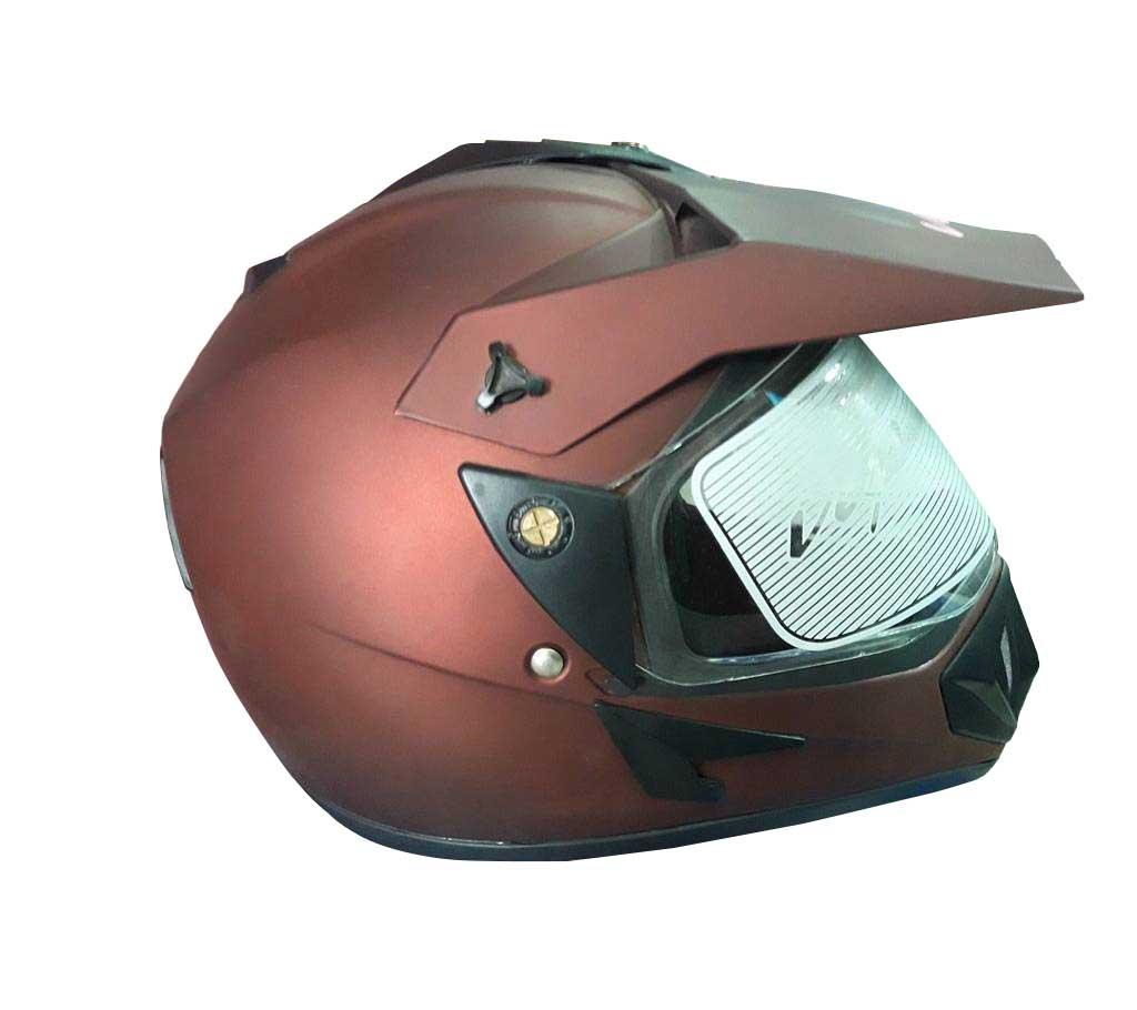 Vega Motor Bike Helmets - Chocolate