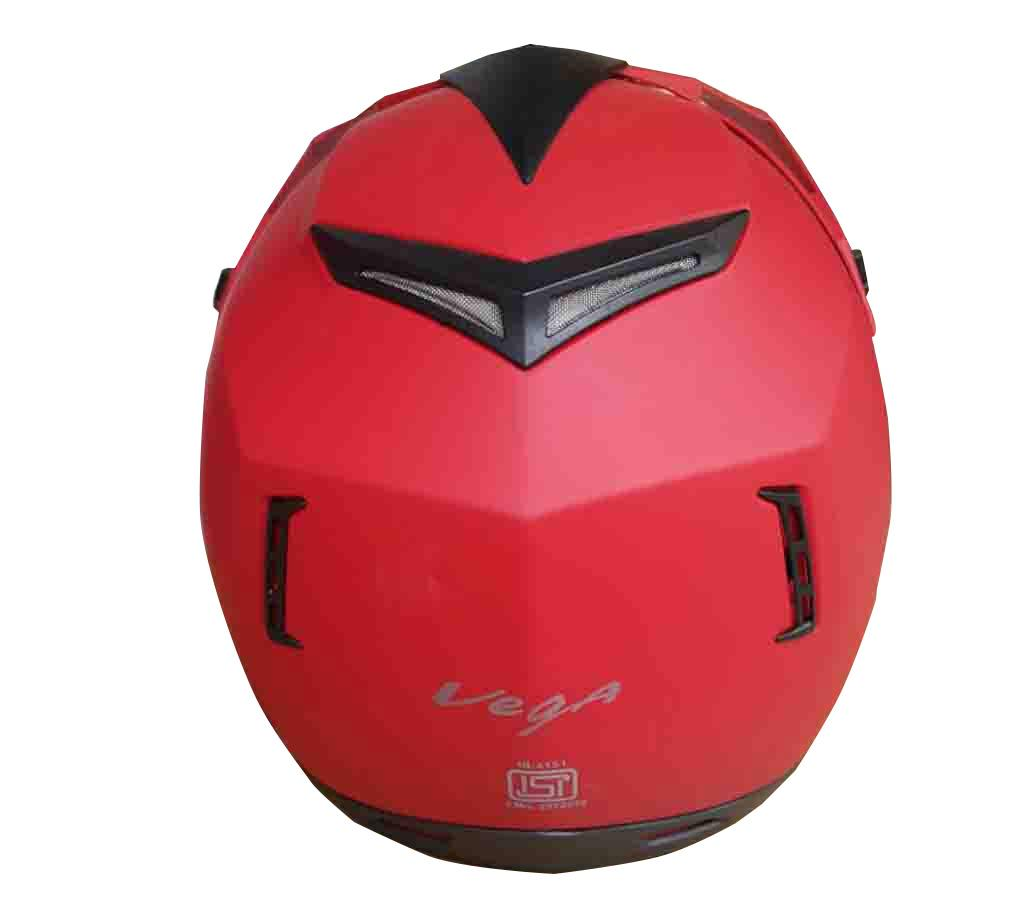 VEGA Motor Bike Helmets - Red