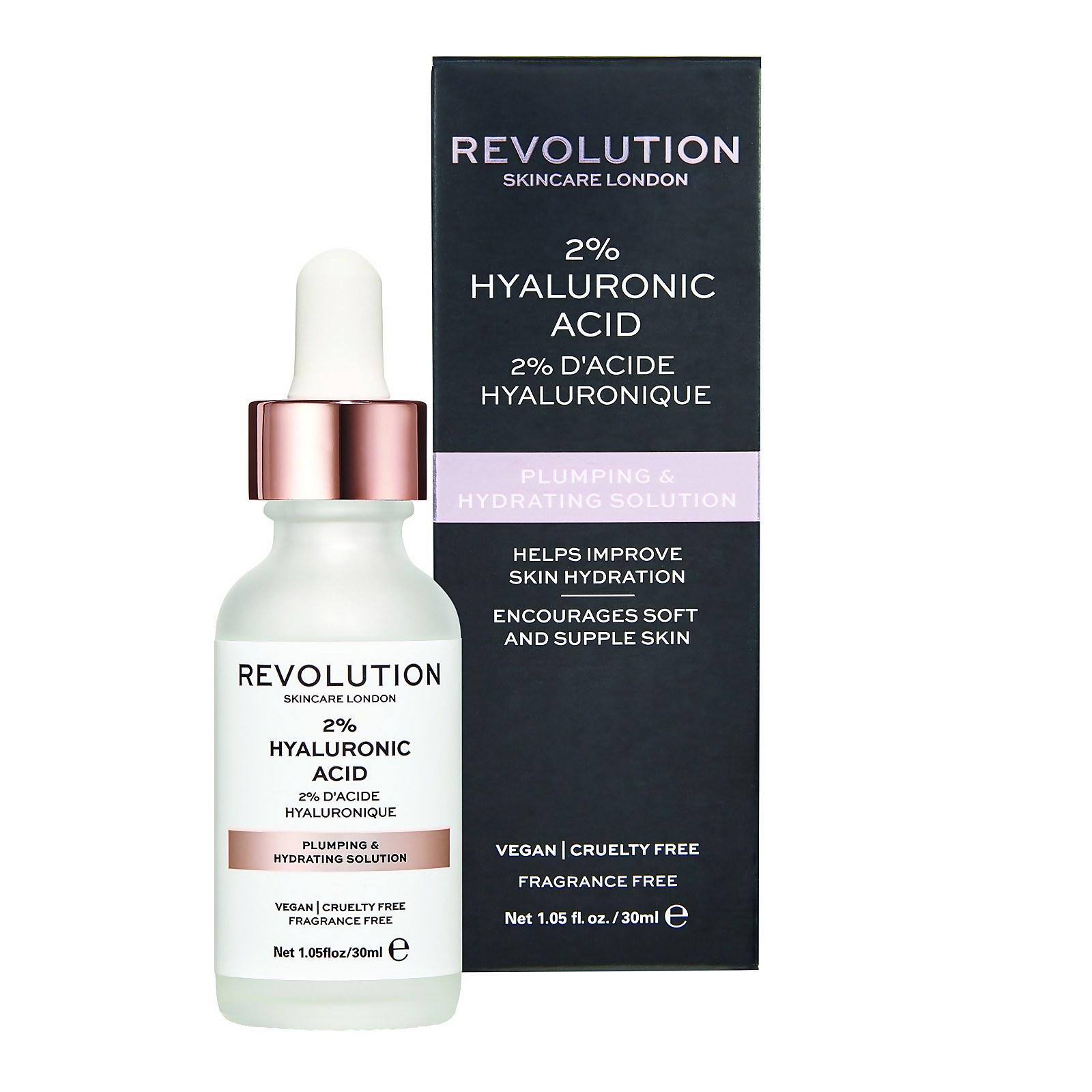 Revolution Skincare Plumping & Hydrating Serum - 2% Hyaluronic Acid