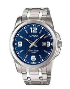 CASIO Enticer Analog Blue Dial Men Watch (MTP-1314D-2AVDF)