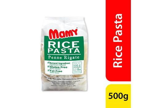 Mamy Rice Pasta Penne Regate 500gm-M210244