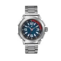 Fastrack Blue Dial Silver Stainless Steel Strap Watch