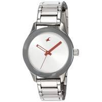 Fastrack Stainless Steel Analog Watch for Women