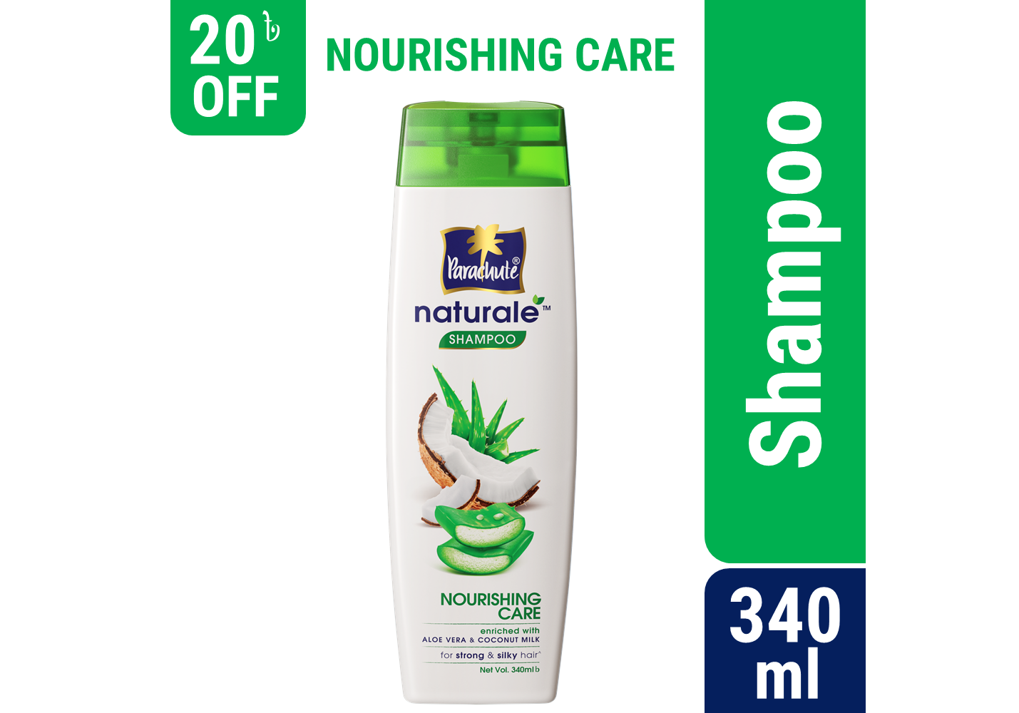 Parachute Naturale Shampoo Nourishing Care 340ml