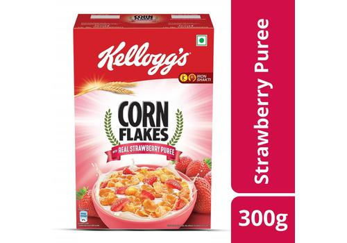 Kelloggs Strawberry Corn Flakes 300g-SF34