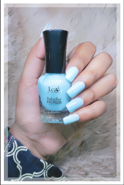 J'Cat Nail Polish  (Sparkling Blue)