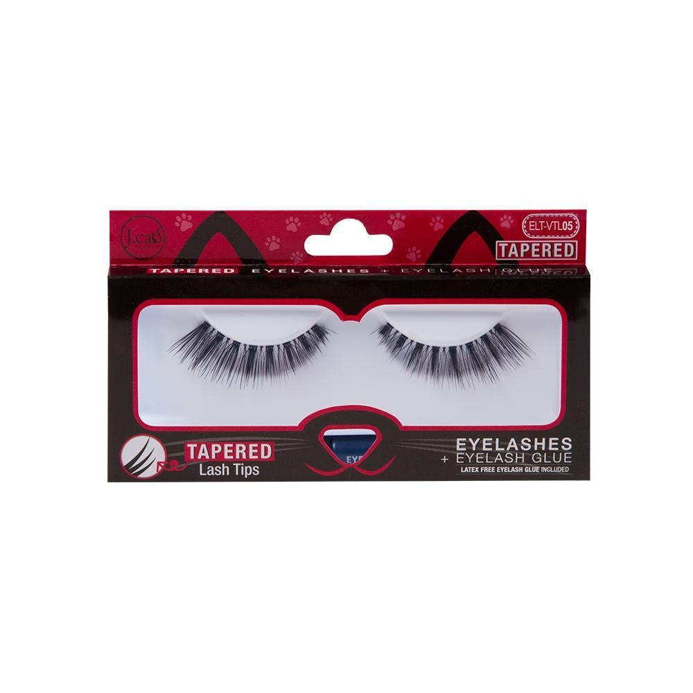 J'Cat Tapered Lashes   (Vtl05)