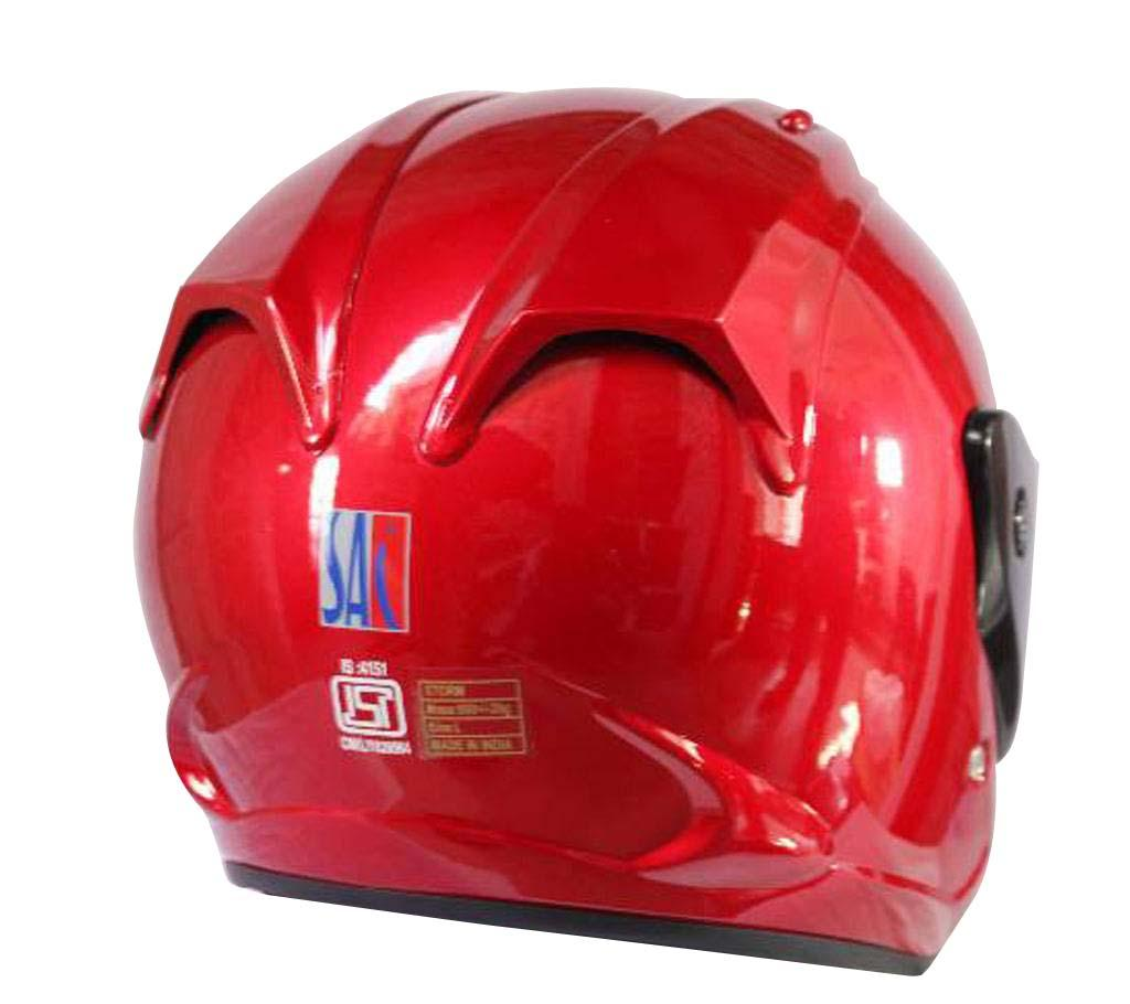 SAI Motor Bike Helmets - Red