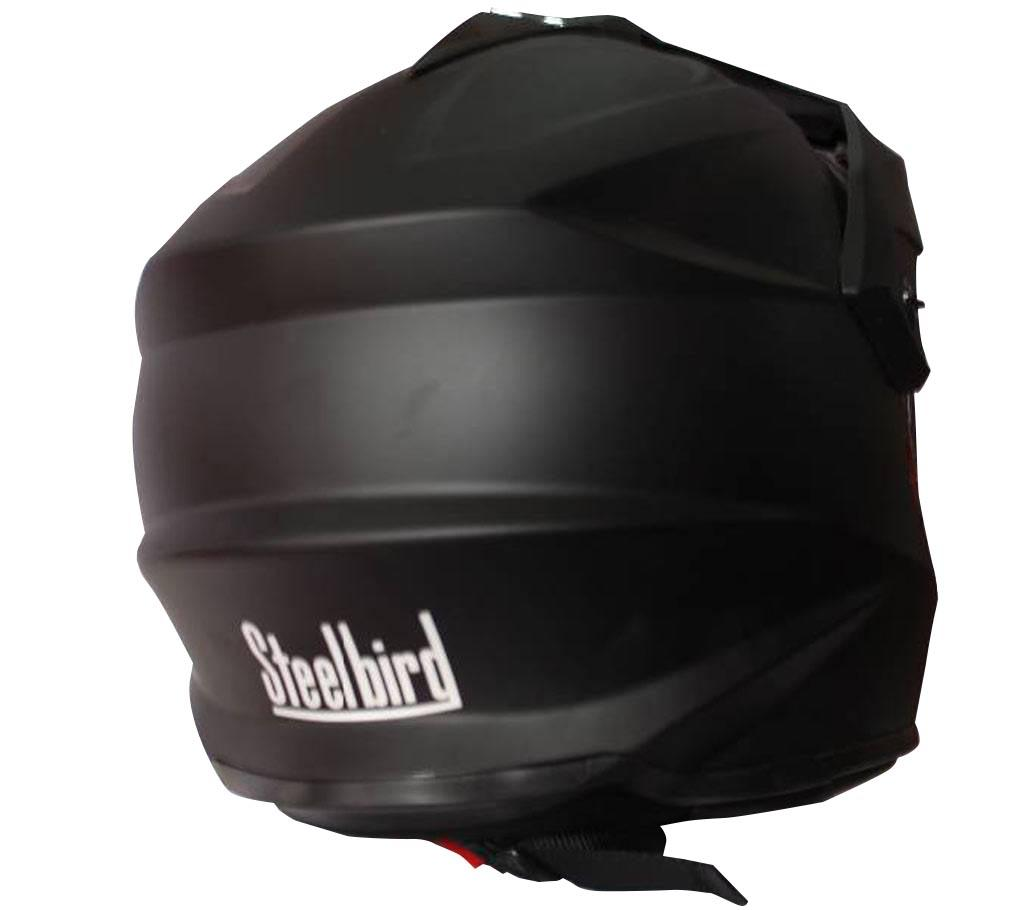 NIRA Motor Bike Helmets - Black