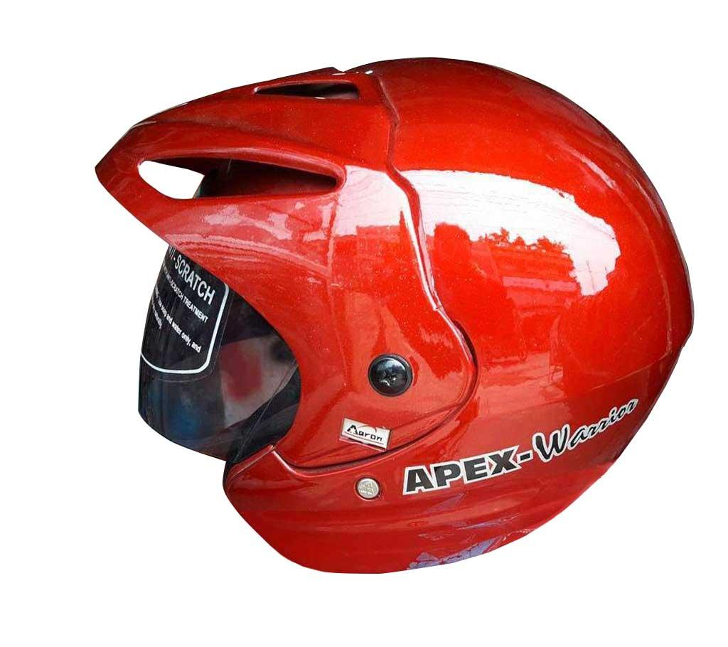 ARON Motor Bike Helmets - Red