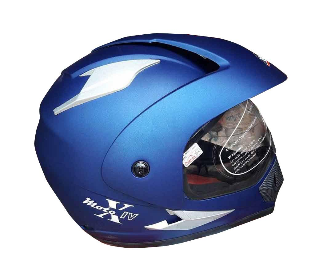 ARON Motor Bike Helmets - Navy Blue