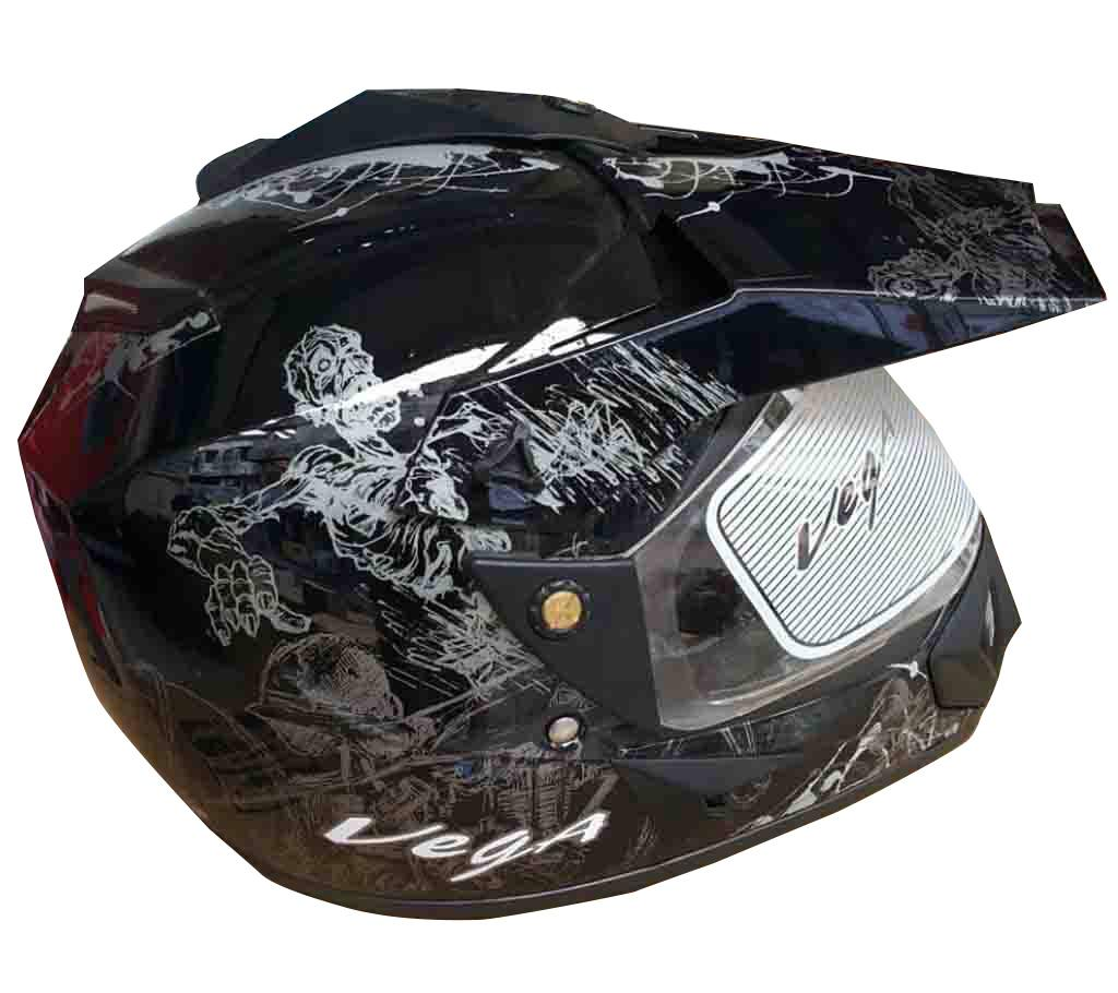 VEGA Motor Bike Helmets - Black