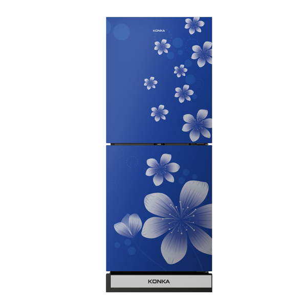 KRB 200 GB-BLUE (2-Door, Bottom Freezer,...