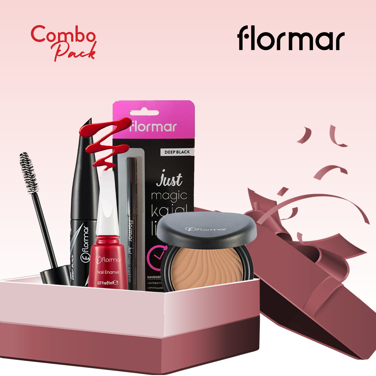 Flormar Cosmetics (Combo Pack 5)- 5 Pieces