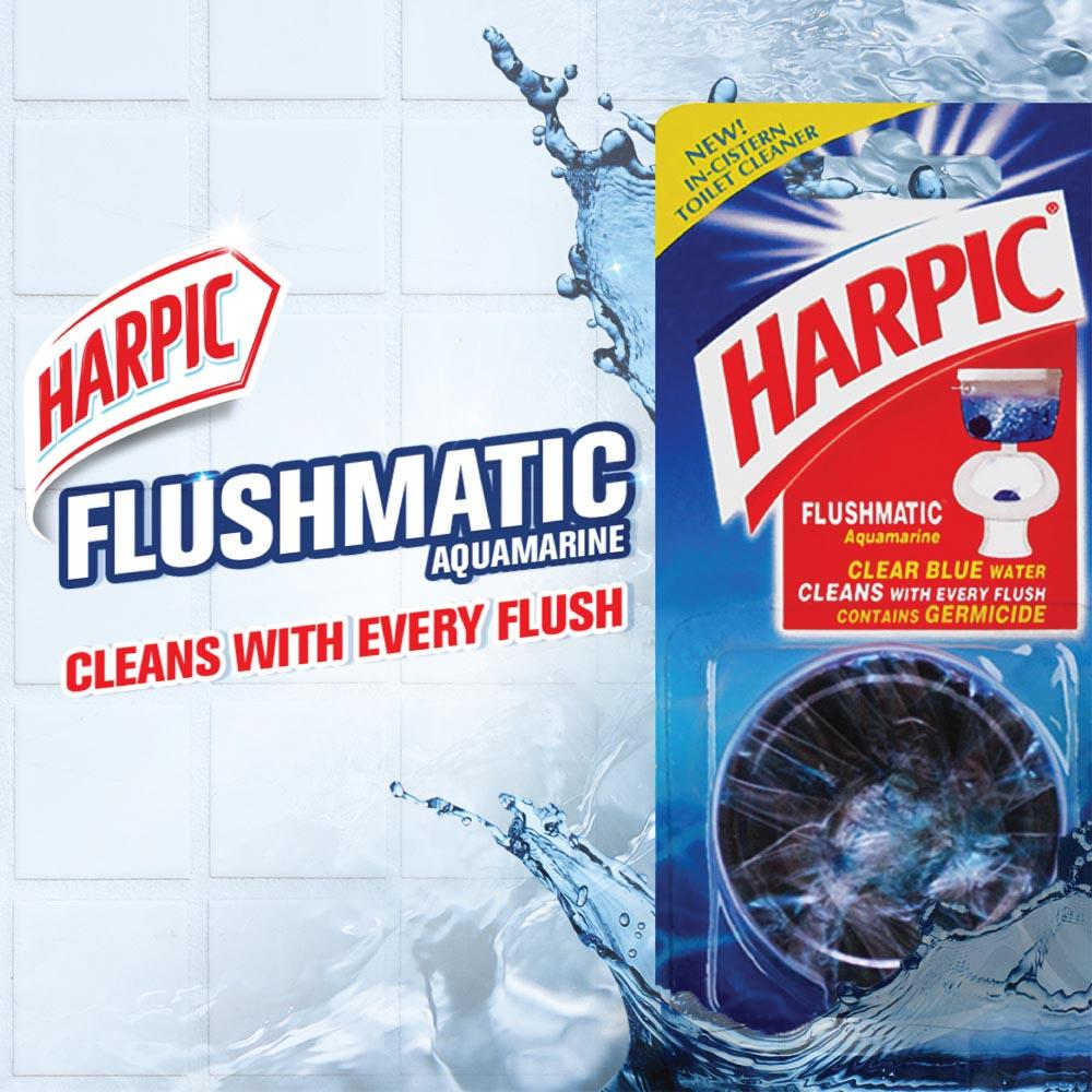 Harpic Flushmatic In-cistern Toilet Cleaner-Twin Pack