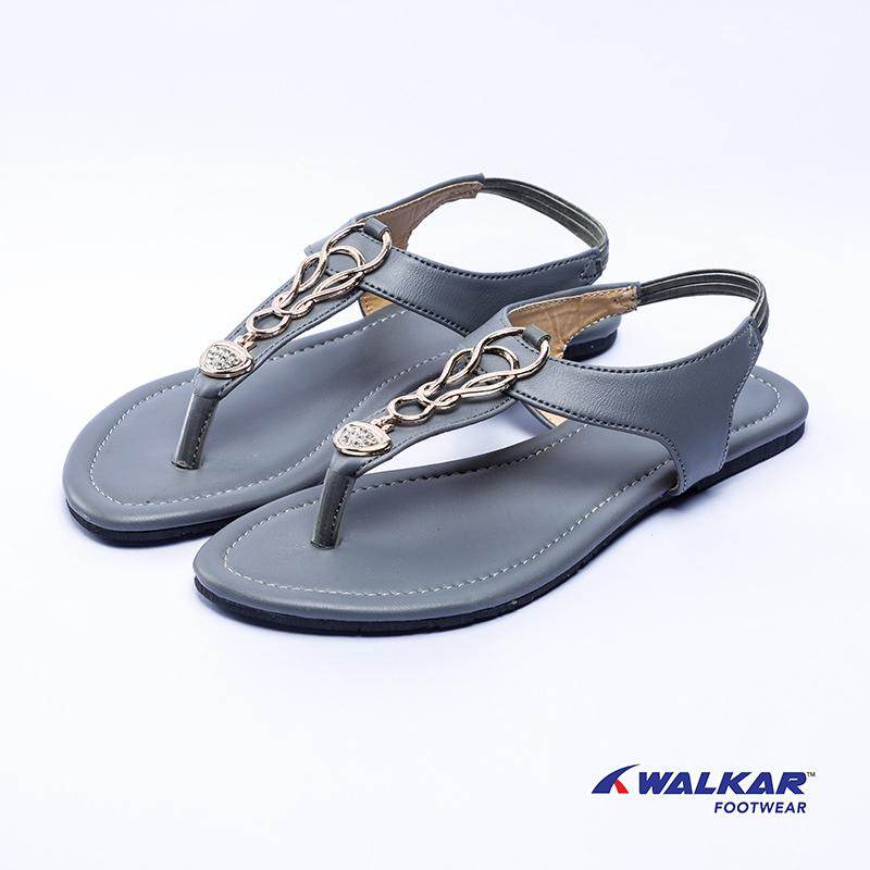 Walkar Ladies Sandal-Ash- 560311303