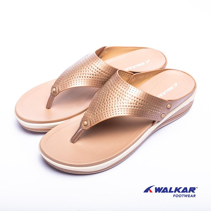 Walkar Ladies Sandal Beige- 660207203