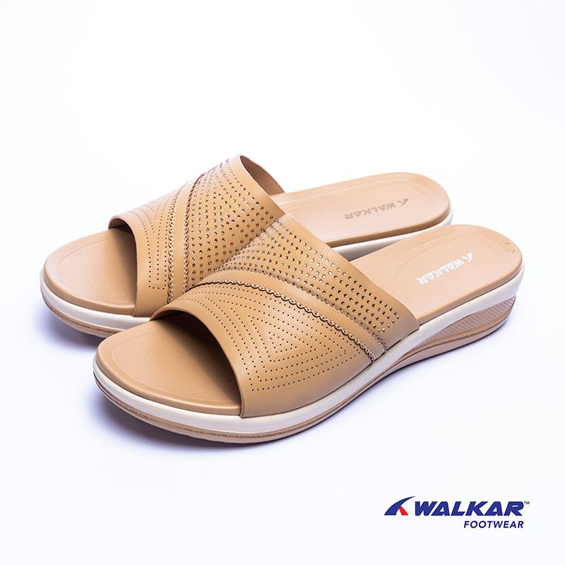 Walkar Ladies Sandal Beige- 660207205
