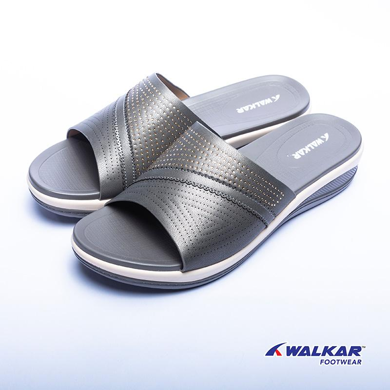 Walkar Ladies Sandal Grey- 660307205