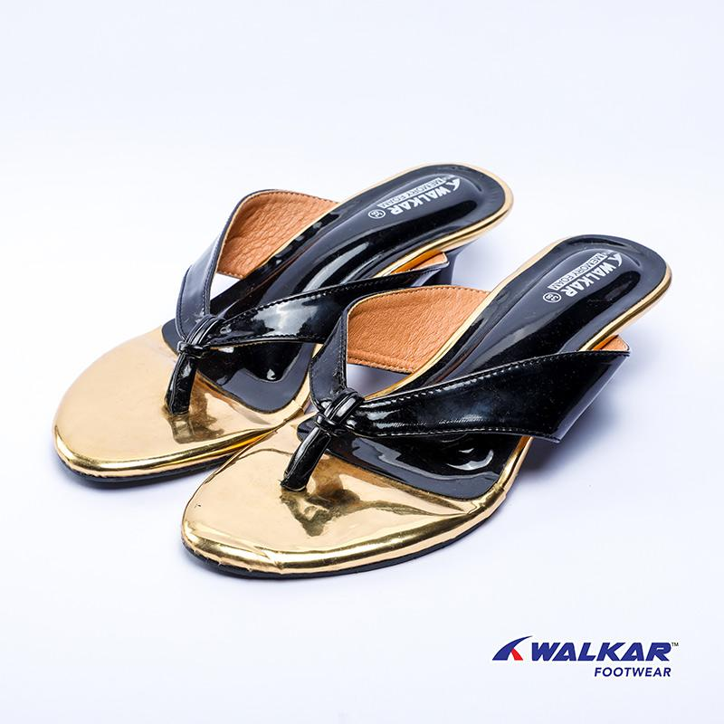 Walkar Ladies Sandal-Black- 660405803
