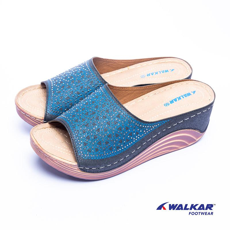 Walkar Ladies Sandal Blue- 660405804