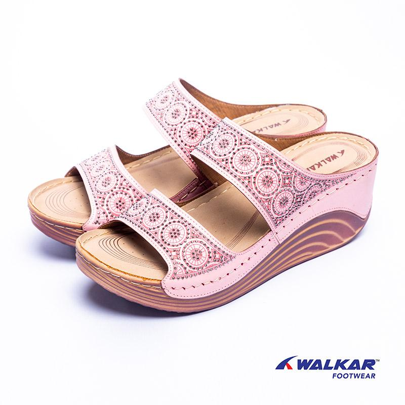 Walkar Ladies Sandal Pink- 660615805