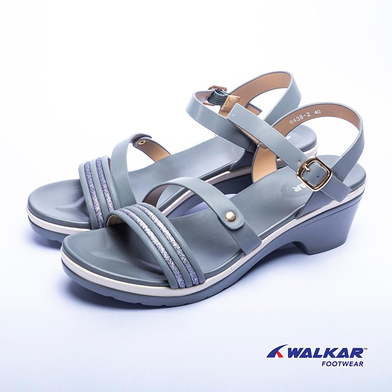Walkar Ladies Sandal Blue- 660707202