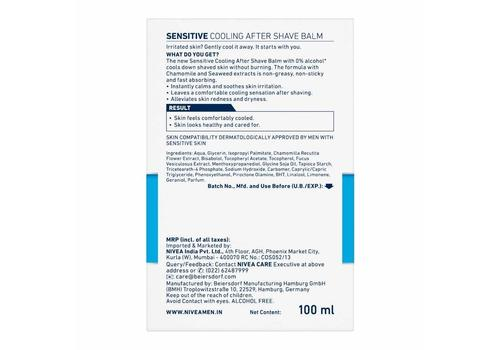 Nivea Men Cooling Post Shave Balm 100ml-88544