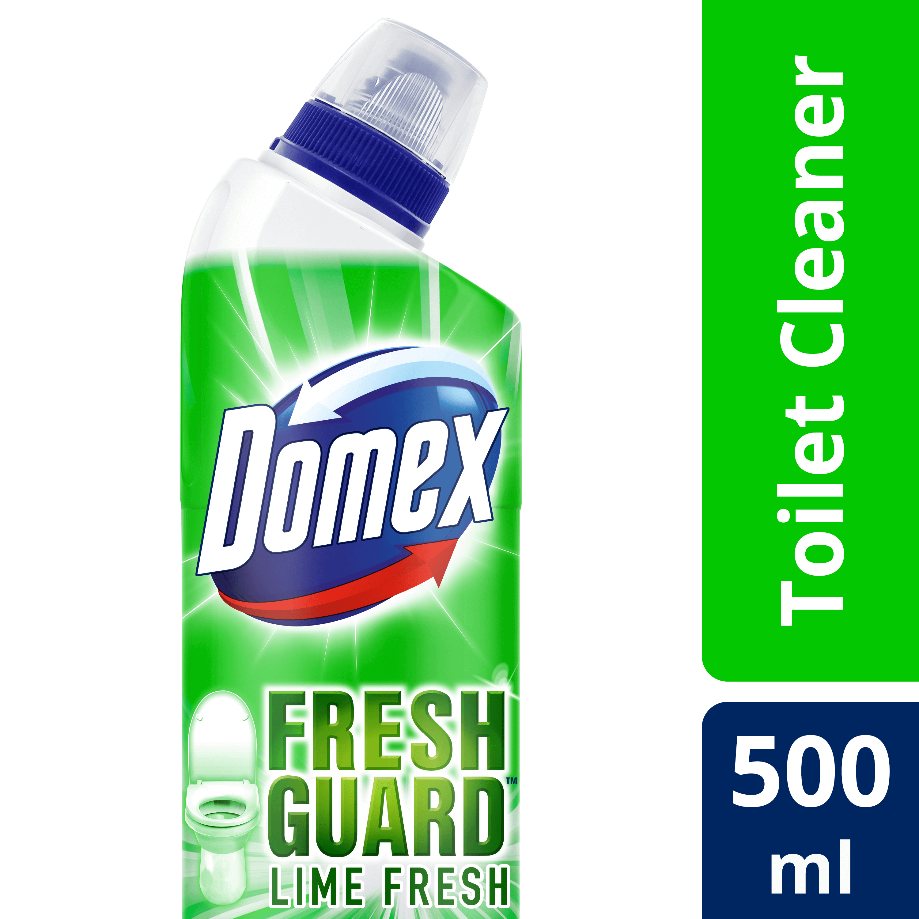 Domex Toilet Cleaning Liquid Lime Fresh 500ml